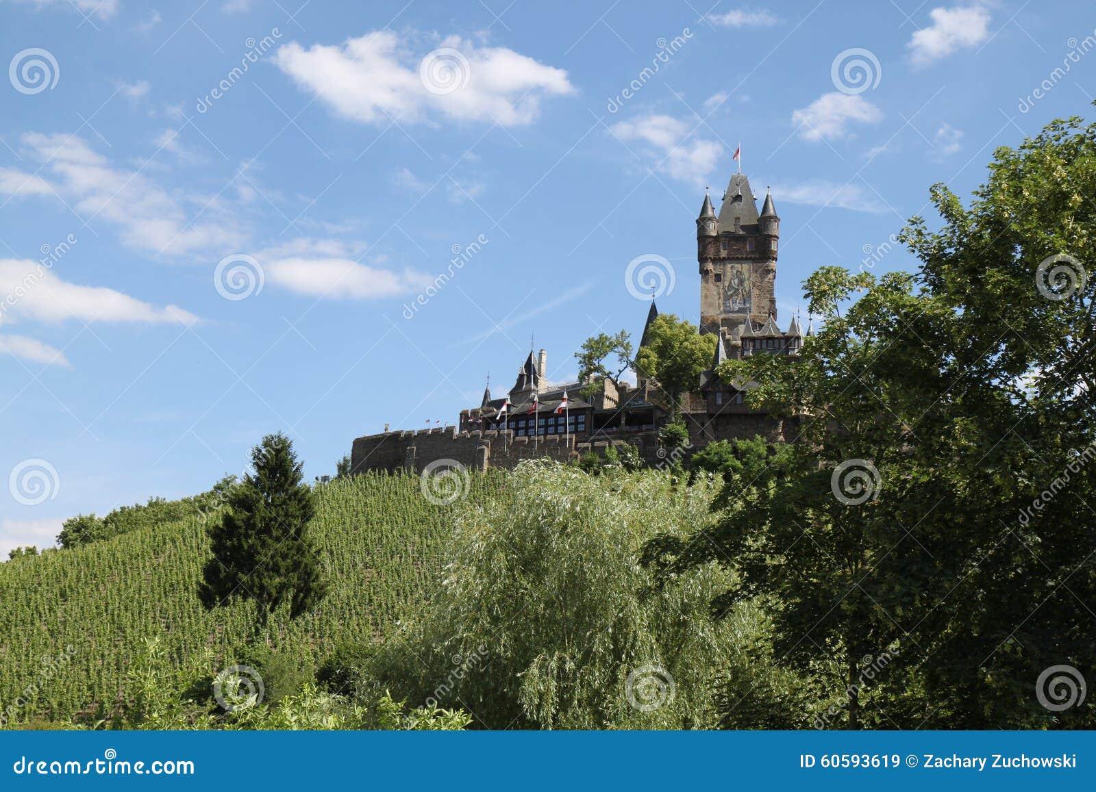Castillo Cochem de Reichsburg