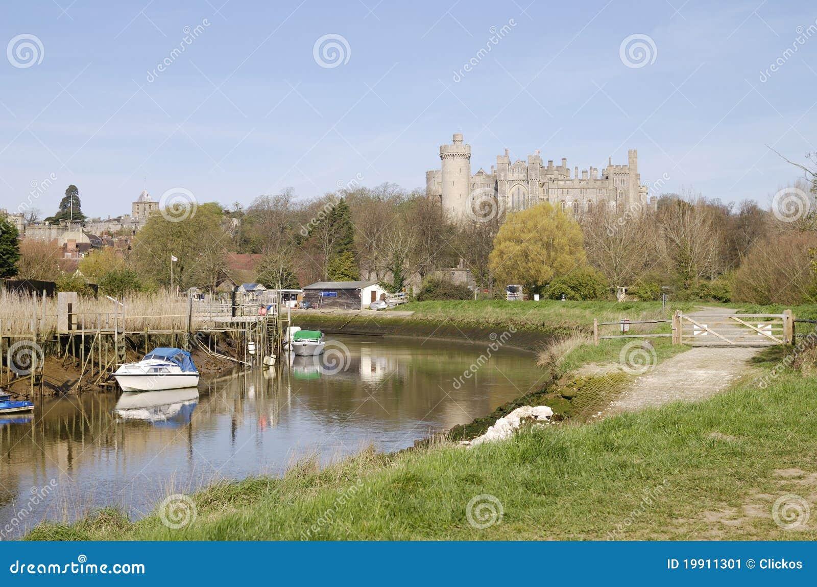 Castillo De Arundel. Sussex Del Oeste. Reino Unido Imagen ...