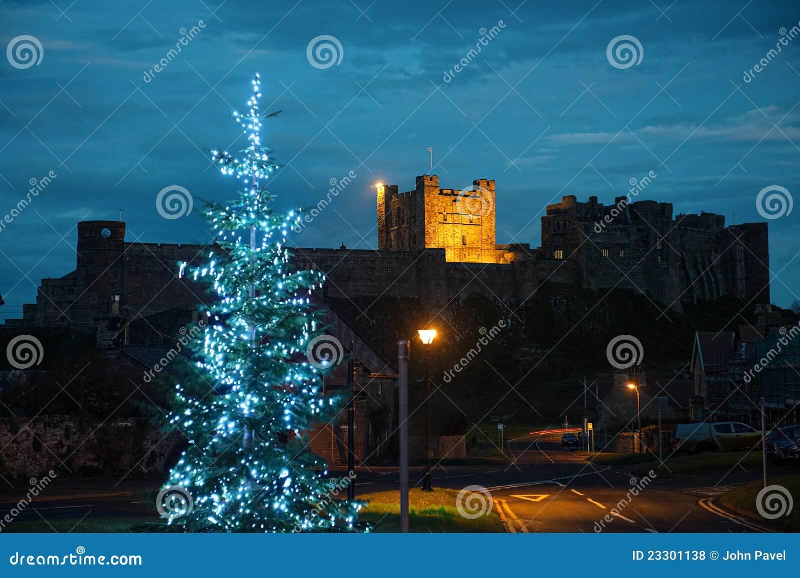 Castillo de Bamburgh, Northumberland, del oeste