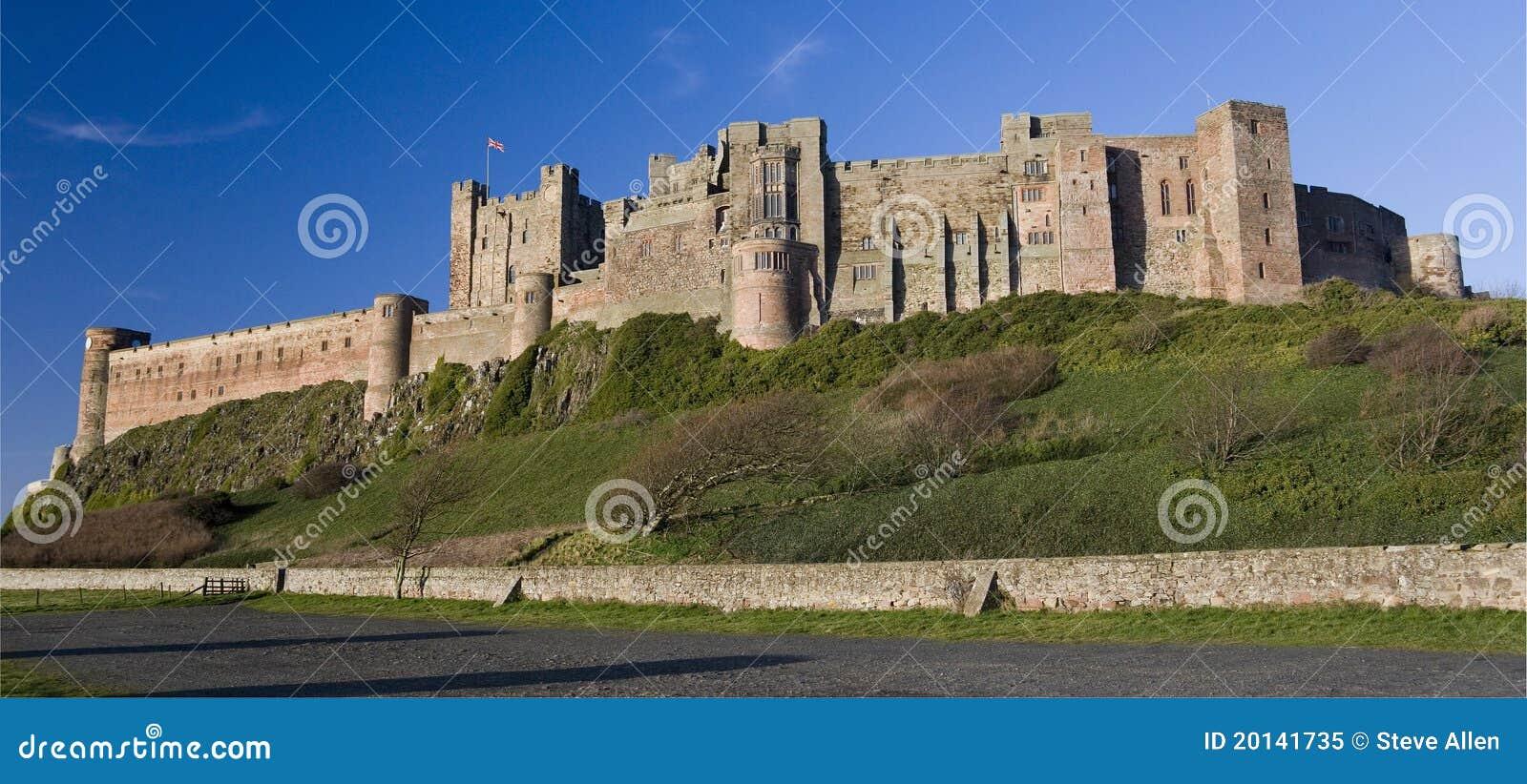 Castillo de Bamburgh - Northumberland - Inglaterra