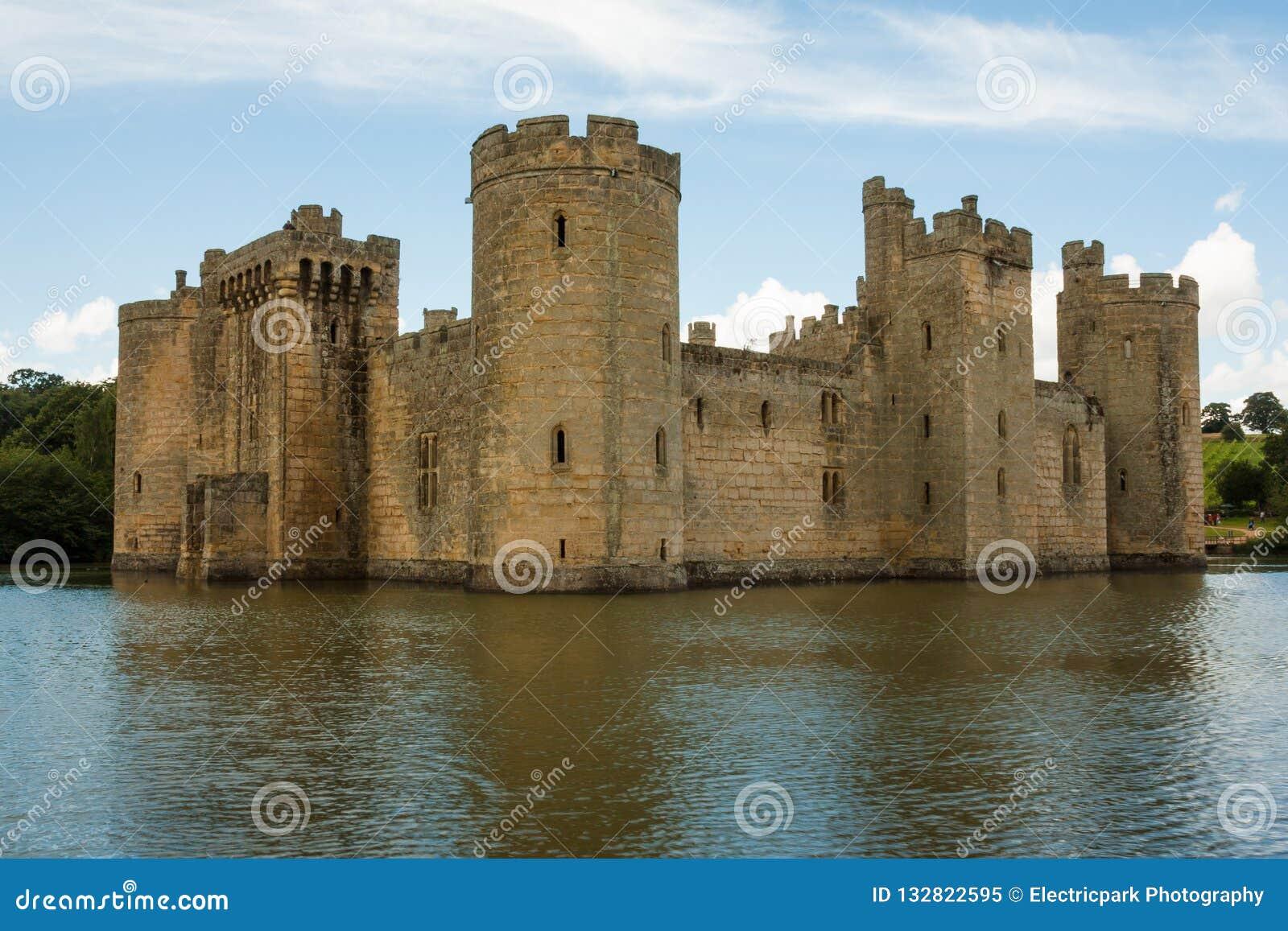 Castillo de Bodiam, Bodiam, Kent, Reino Unido