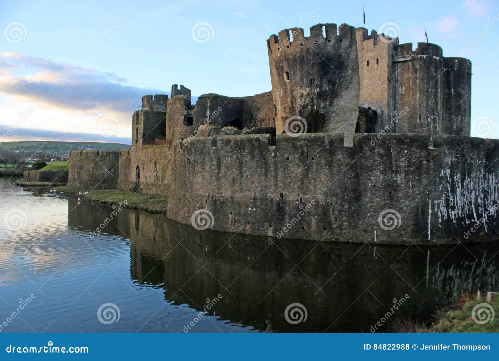 Castillo de Caerphilly, País de Gales