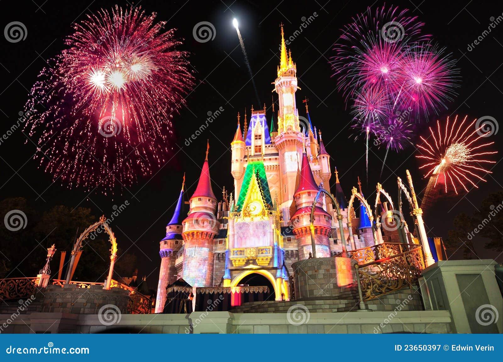 Castillo de Cinderella de Disney