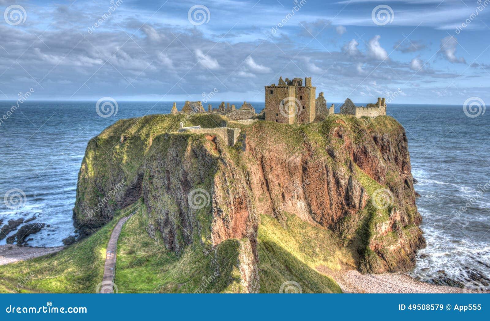 Castillo de Dunnottar, Stonehaven, Escocia
