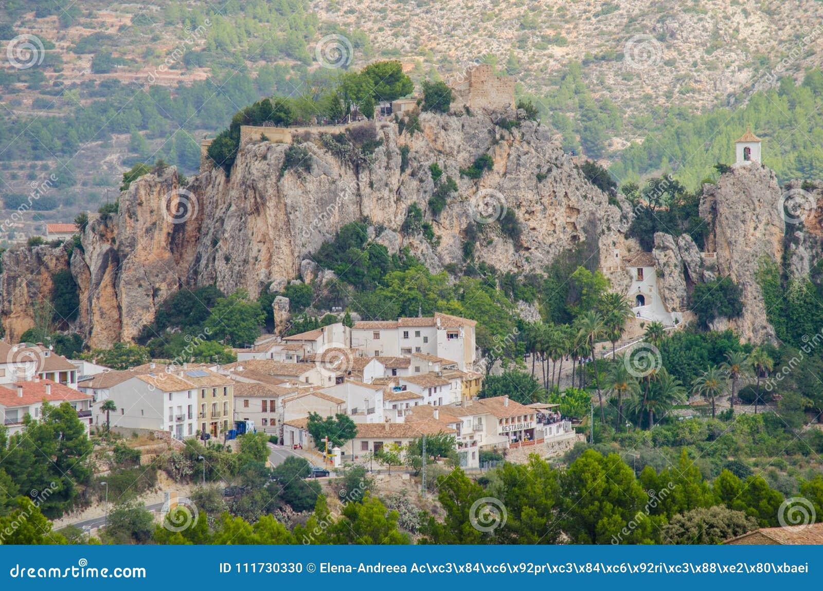 Castillo De Guadalest Costa Blanca Provincia De Alicante