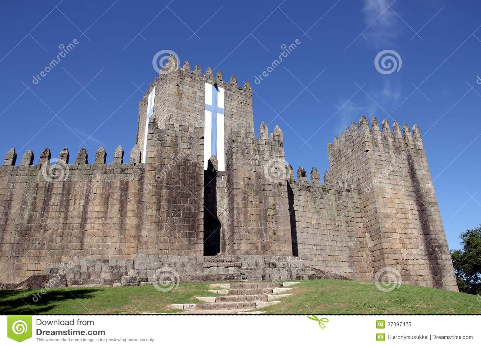 Castillo de Guimaraes en Portugal
