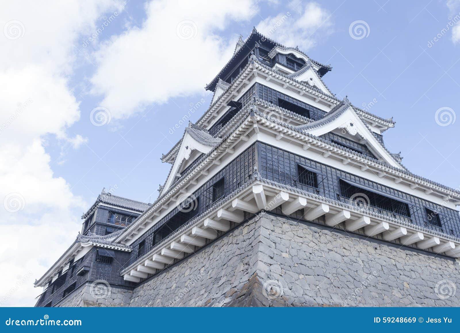 Castillo de Kumamoto en Japón