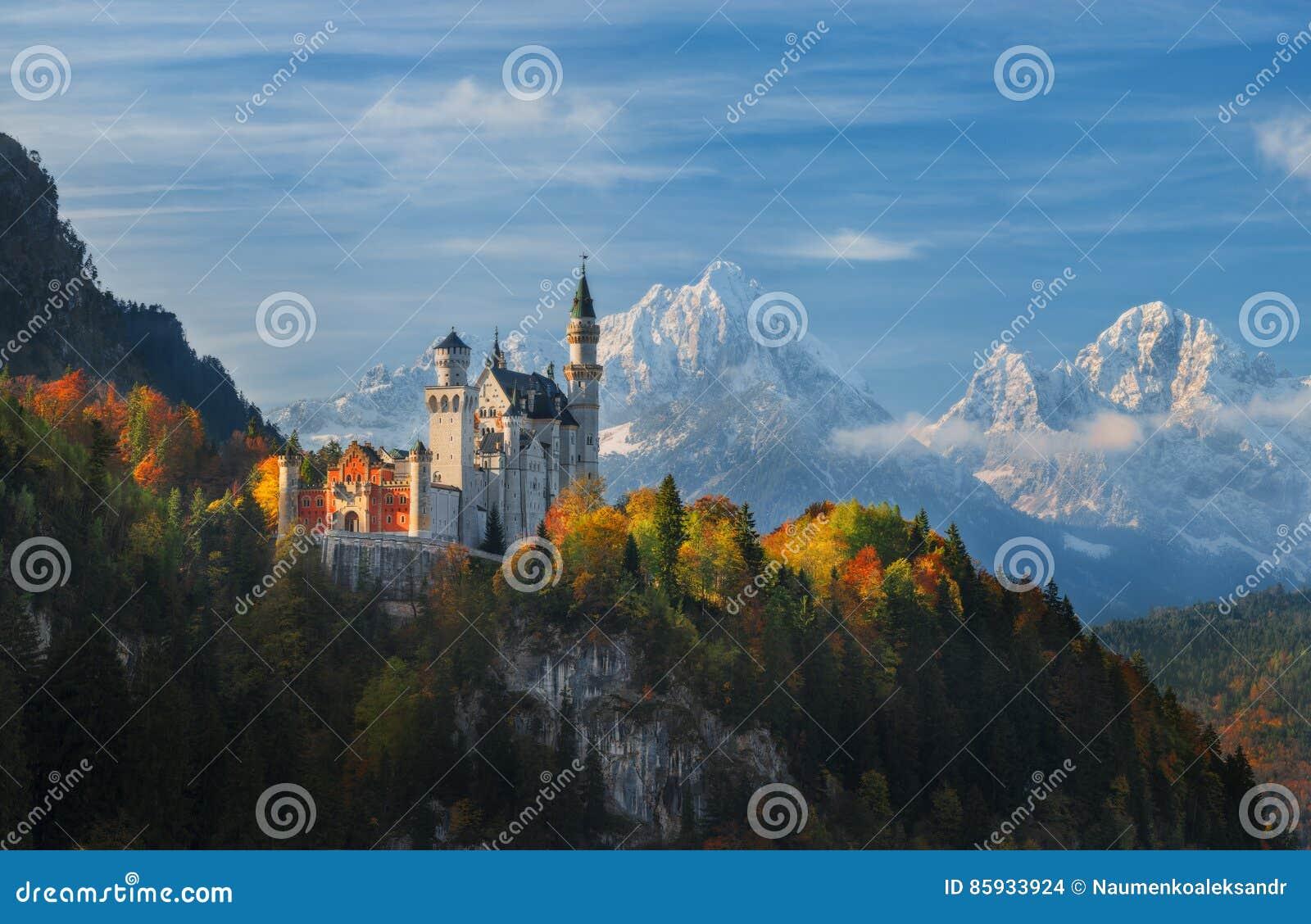 Castillo de Neuschwanstein del panorama