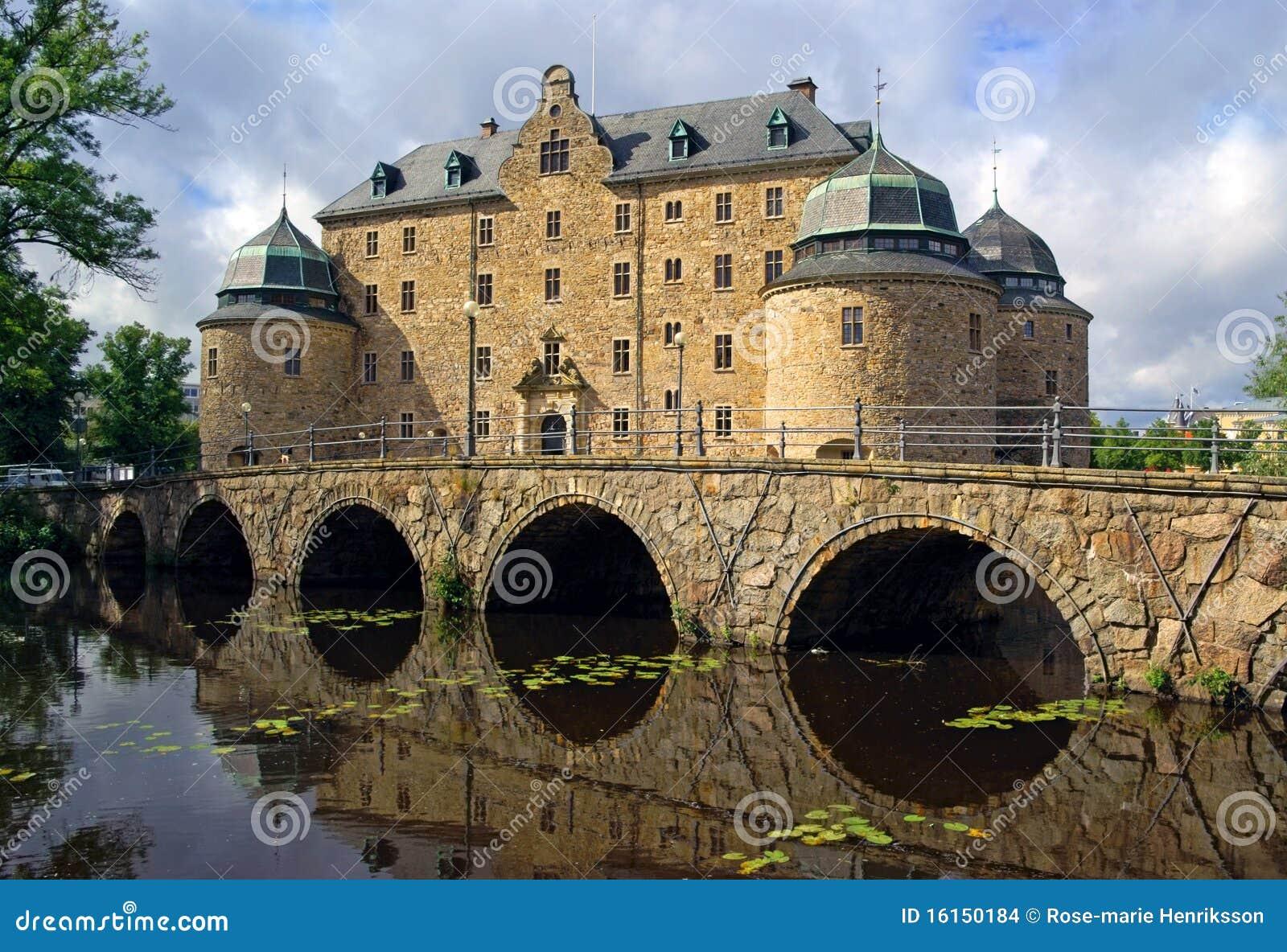 Castillo de Orebro, Suecia