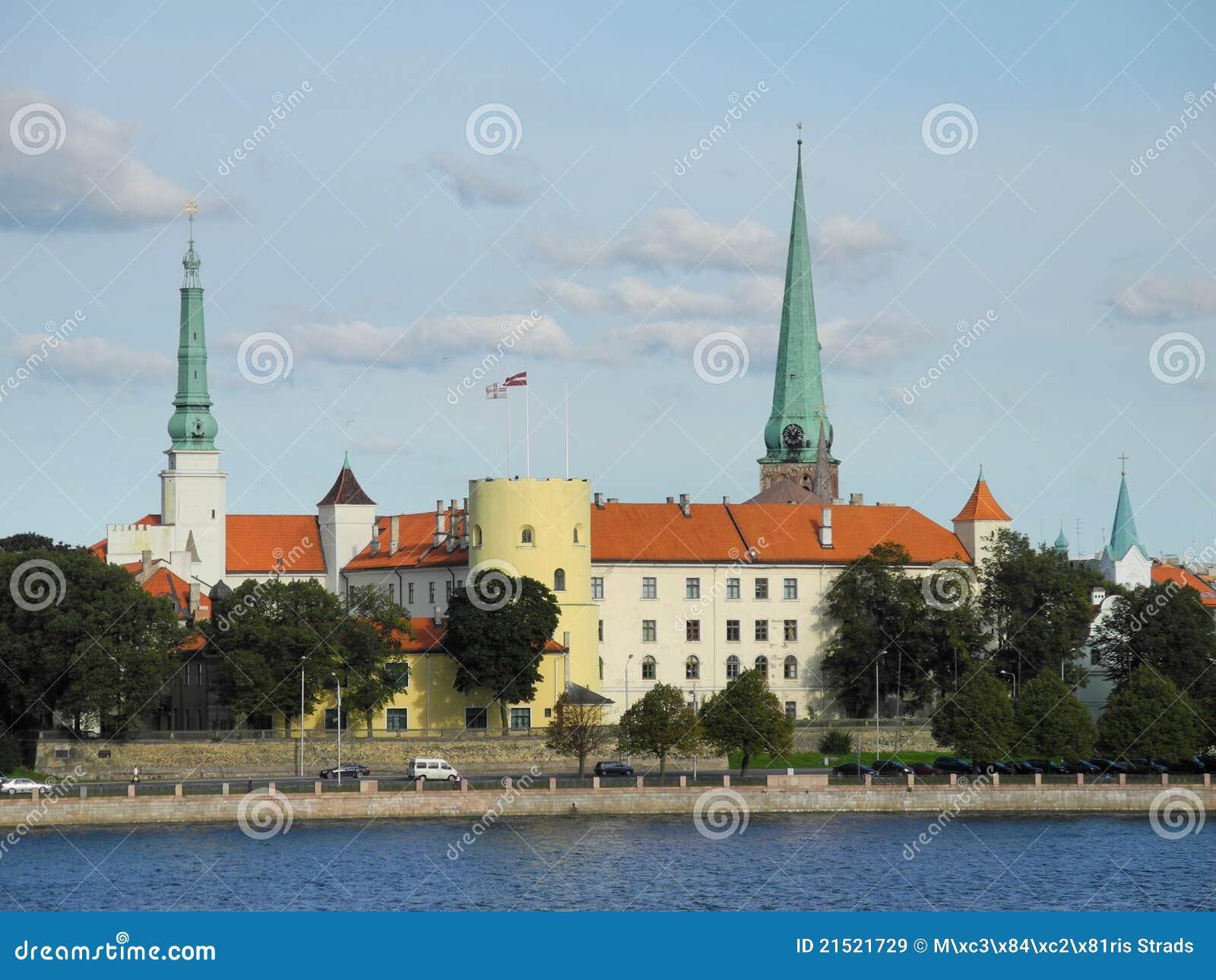 Castillo de Riga en Latvia