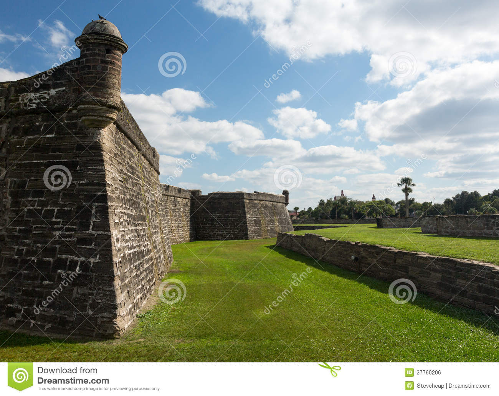 Castillo de San Marcos St Augustine la Floride