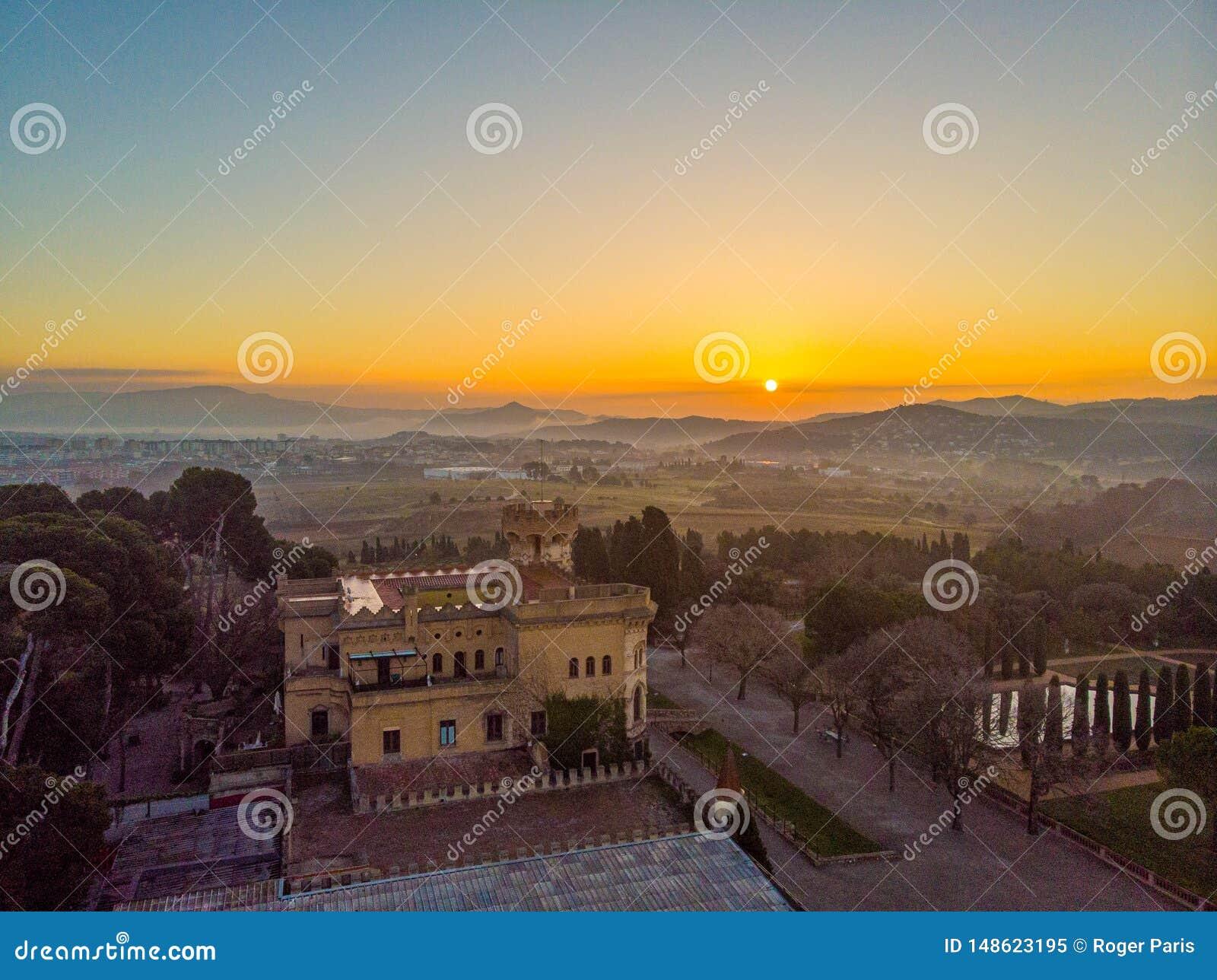 Castillo de Sant Marçal en Cerdanyola espa?a