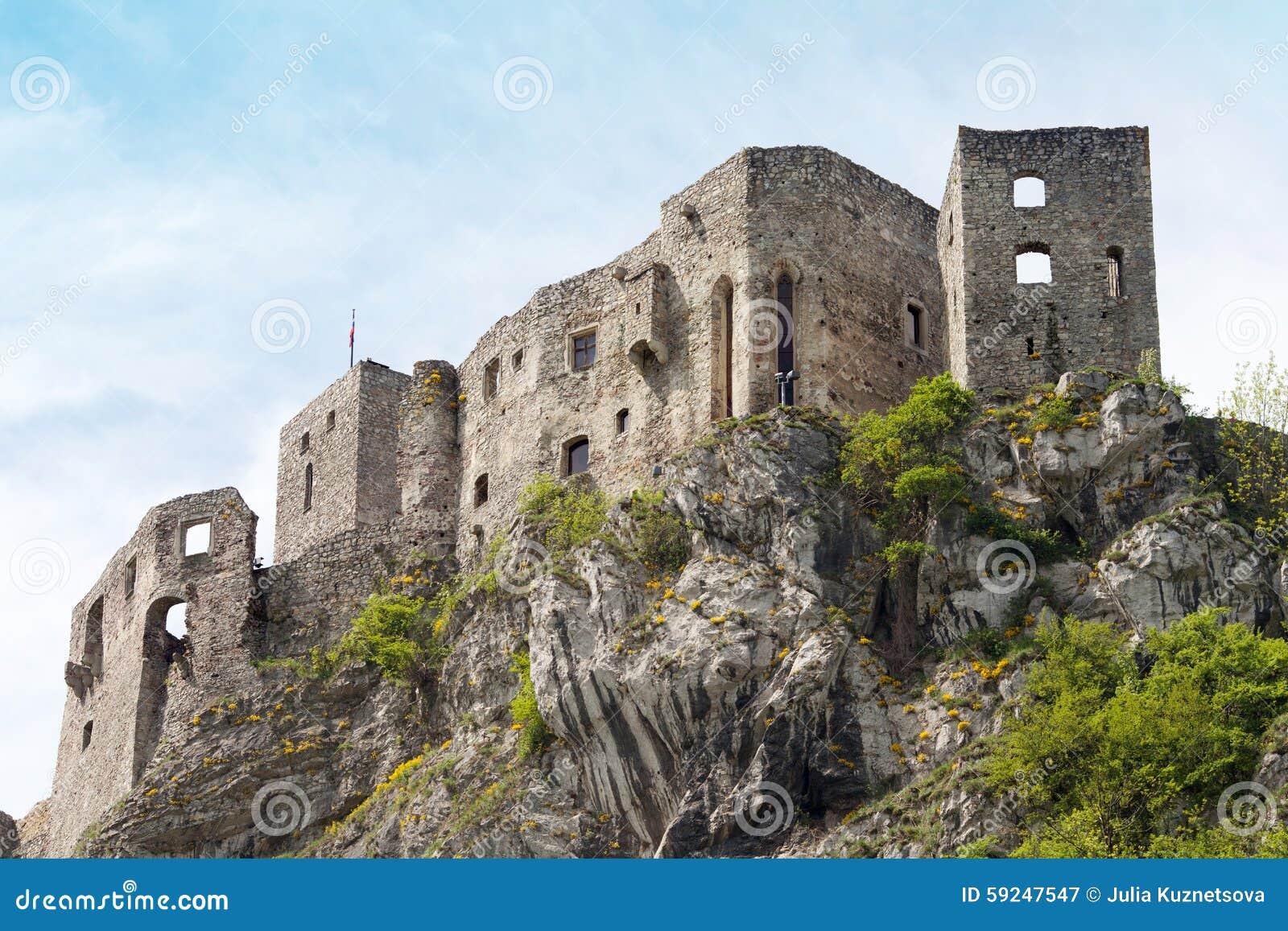 Castillo de Strecno en Eslovaquia