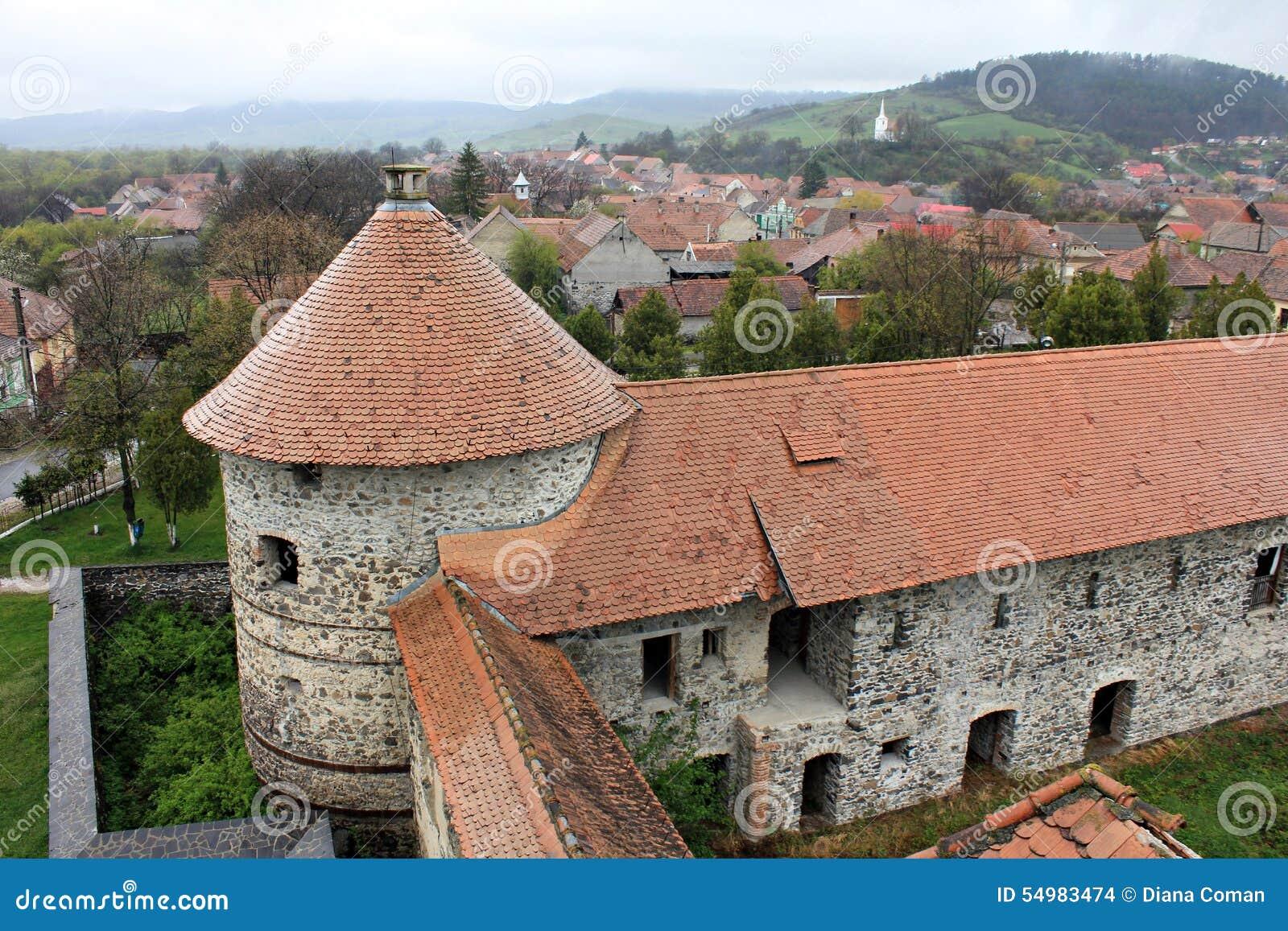 Castillo de Sukosd-Bethlen en Racos, Transilvania