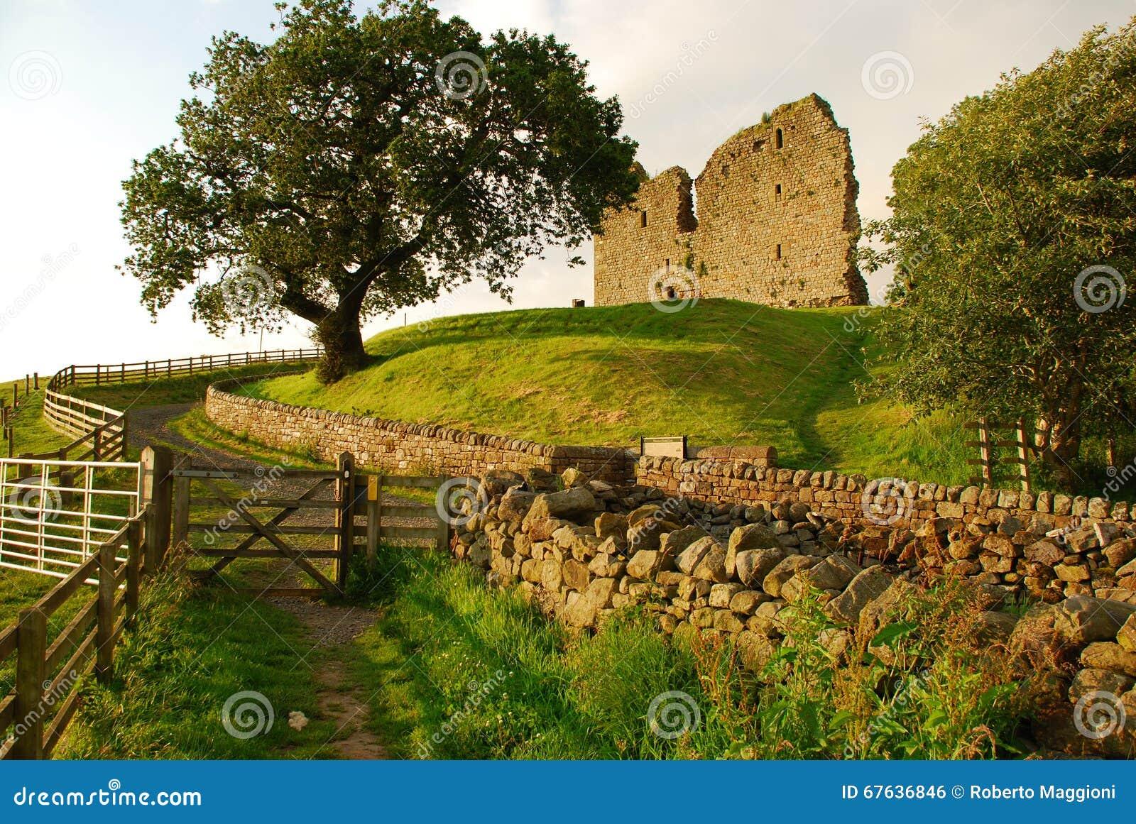 Castillo de Thirlwall, Inglaterra