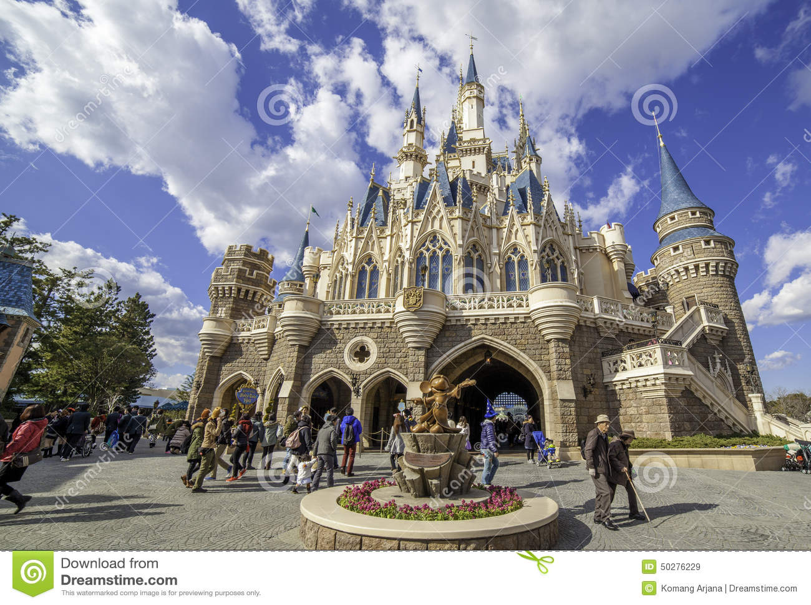 Castillo de Tokio Disneylandya