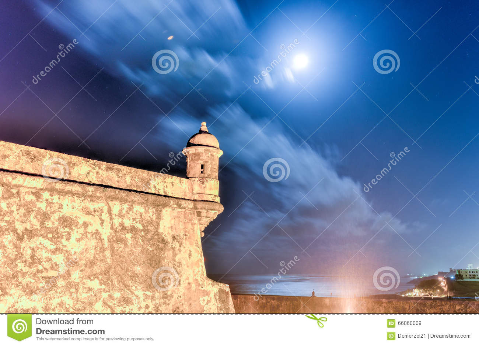Castillo del EL Morro, San Juan, Puerto Rico