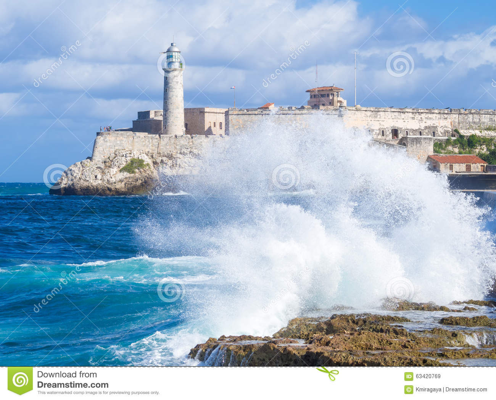 Castillo del morro del EL en La Habana