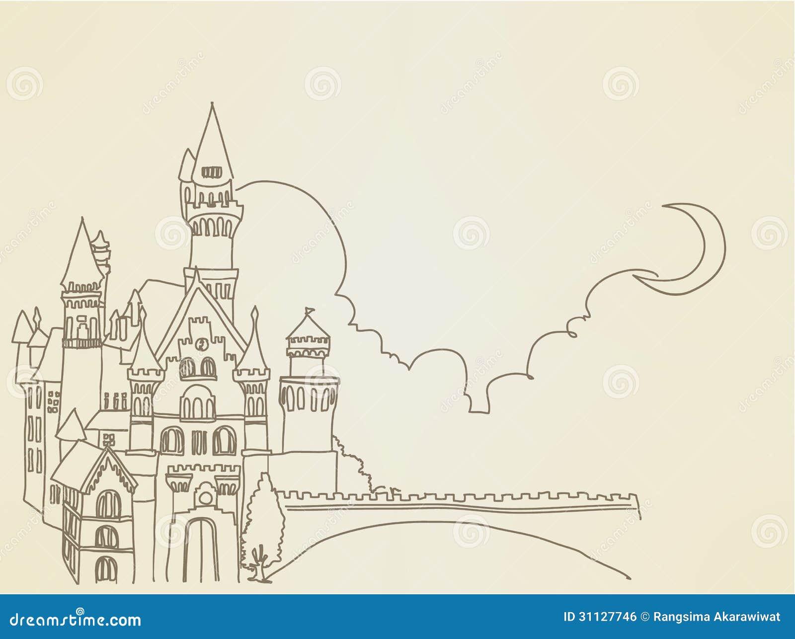 Castillo del vintage