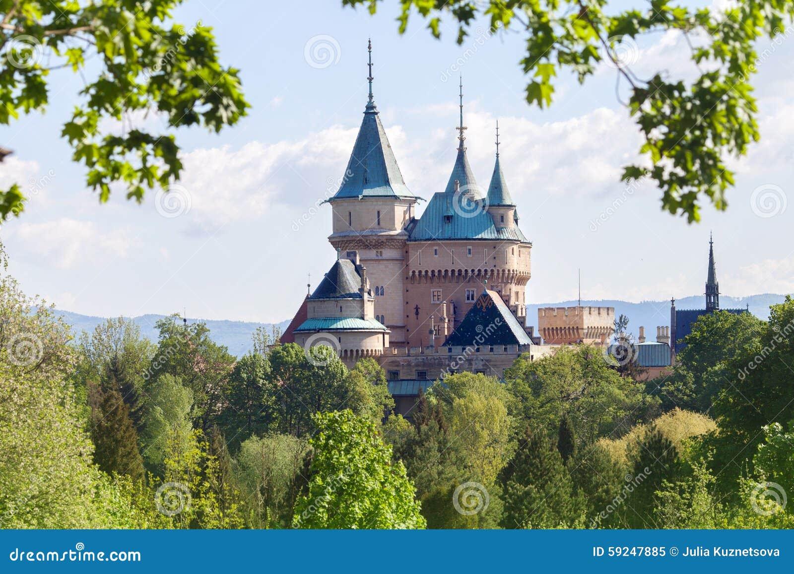 Castillo en Bojnice