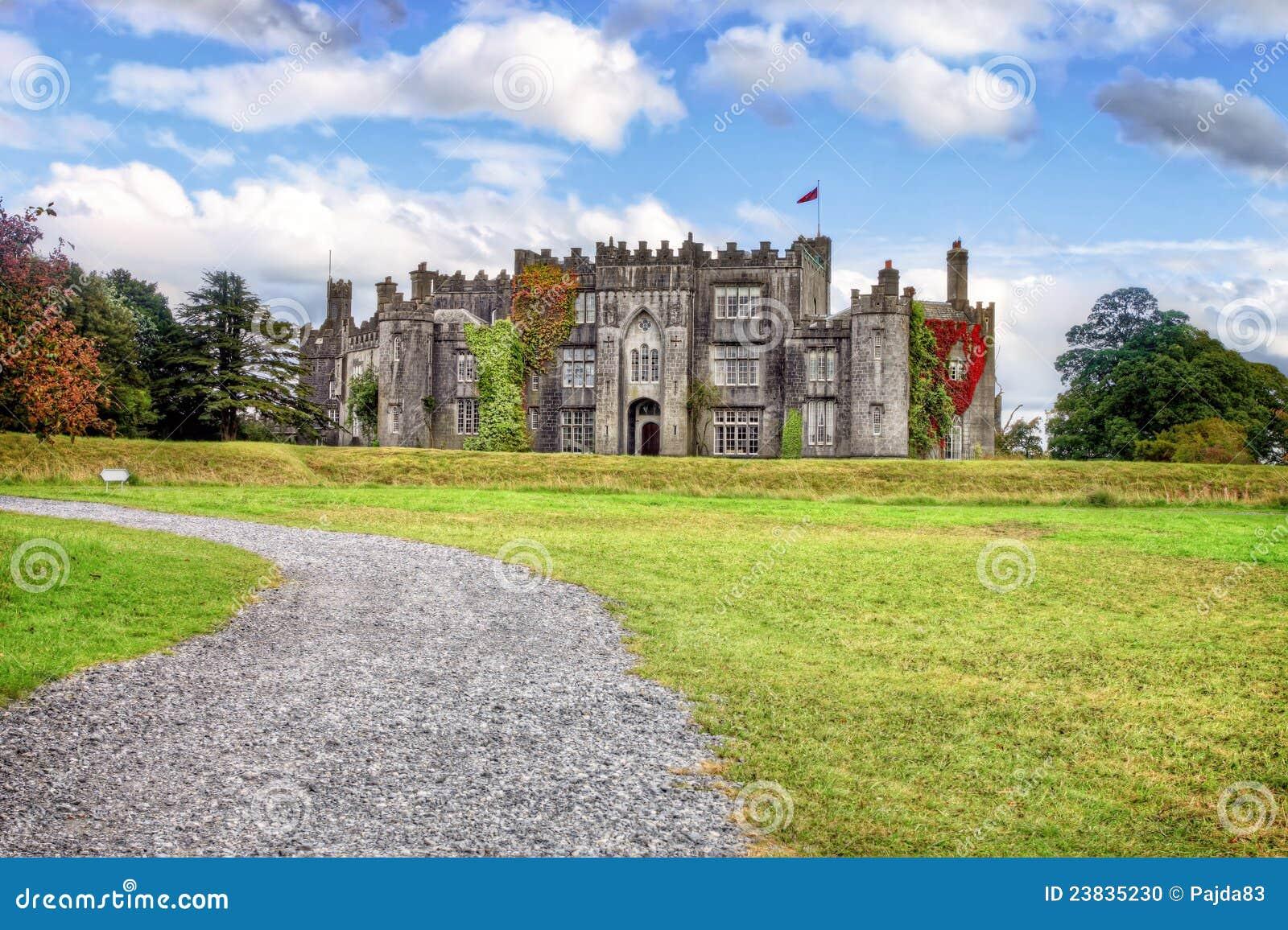 Castillo en Co.Offaly - Irlanda del birr.