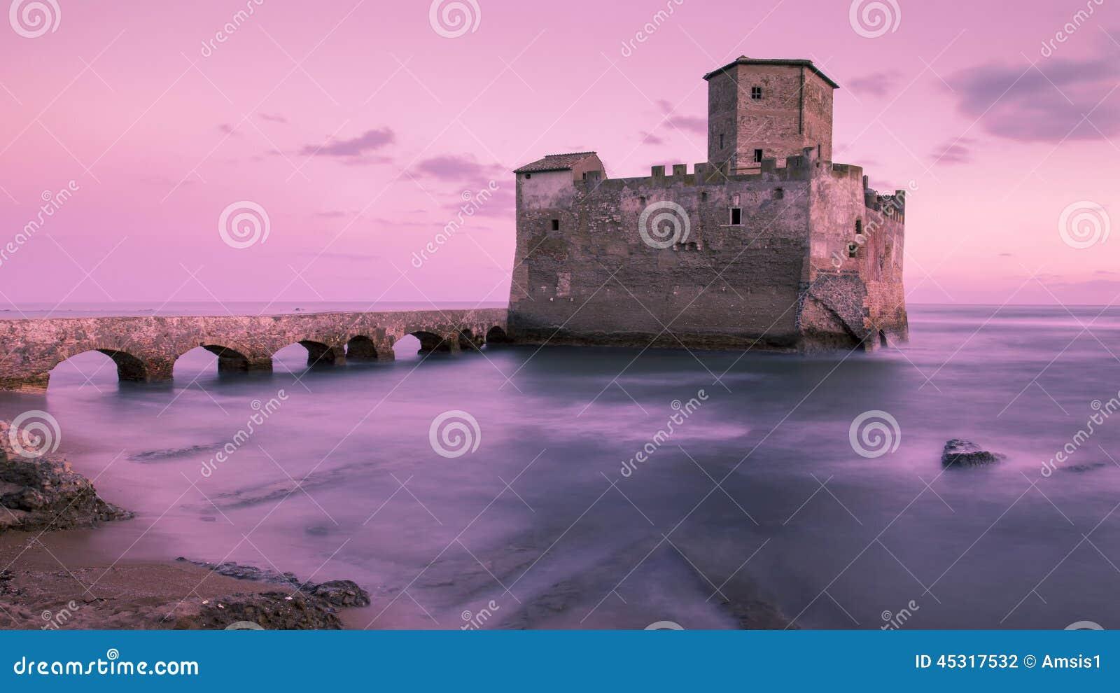 Castillo en el mar