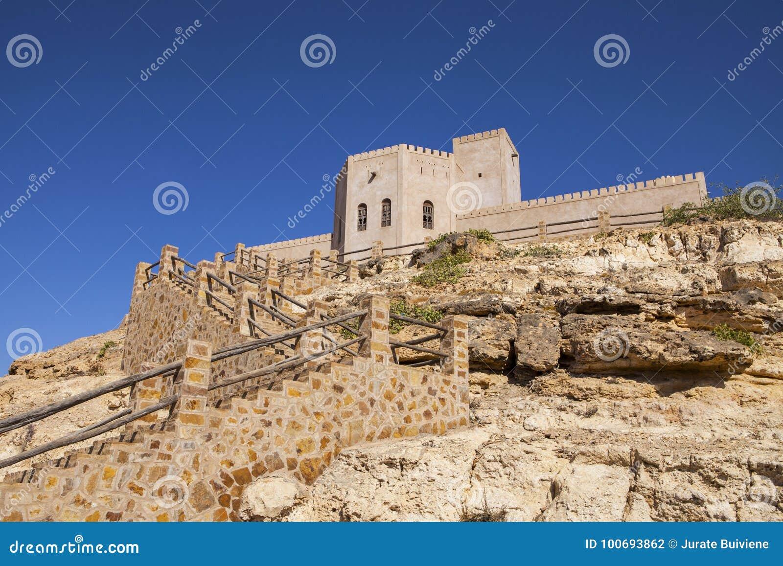 Castillo en Taqah