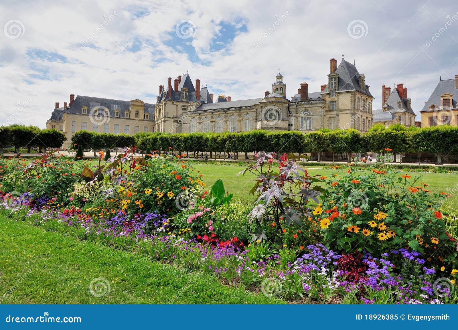 Castillo francés de Fontainebleau