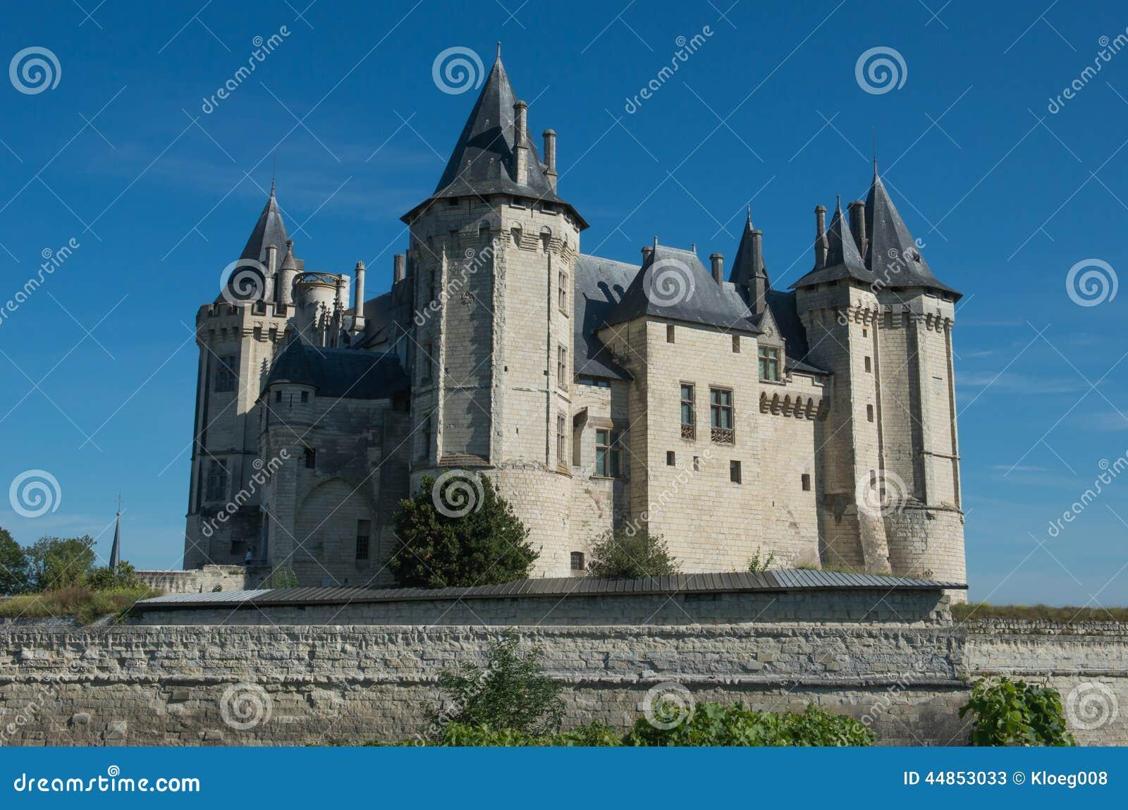 Castillo francés en Saumur