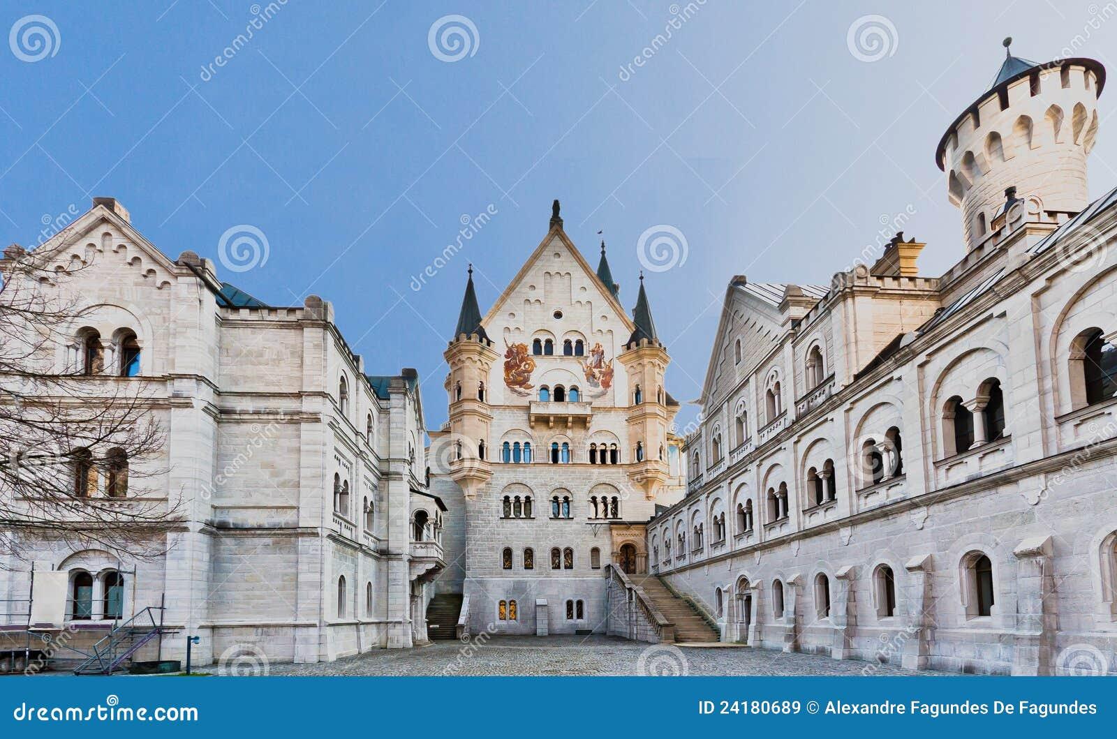 Castillo Fussen Alemania de Neuschwanstein