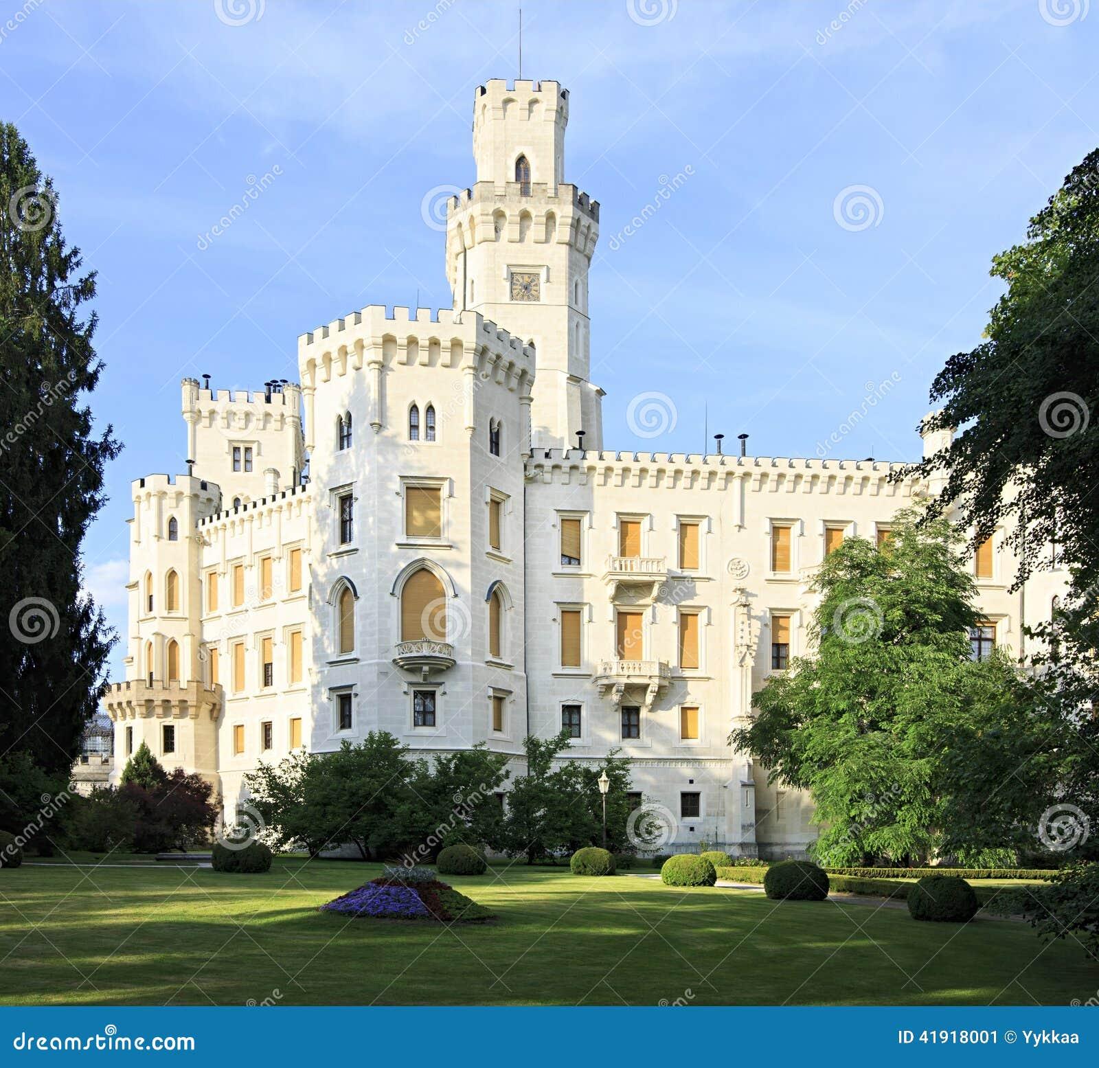 Castillo hermoso de Hluboka