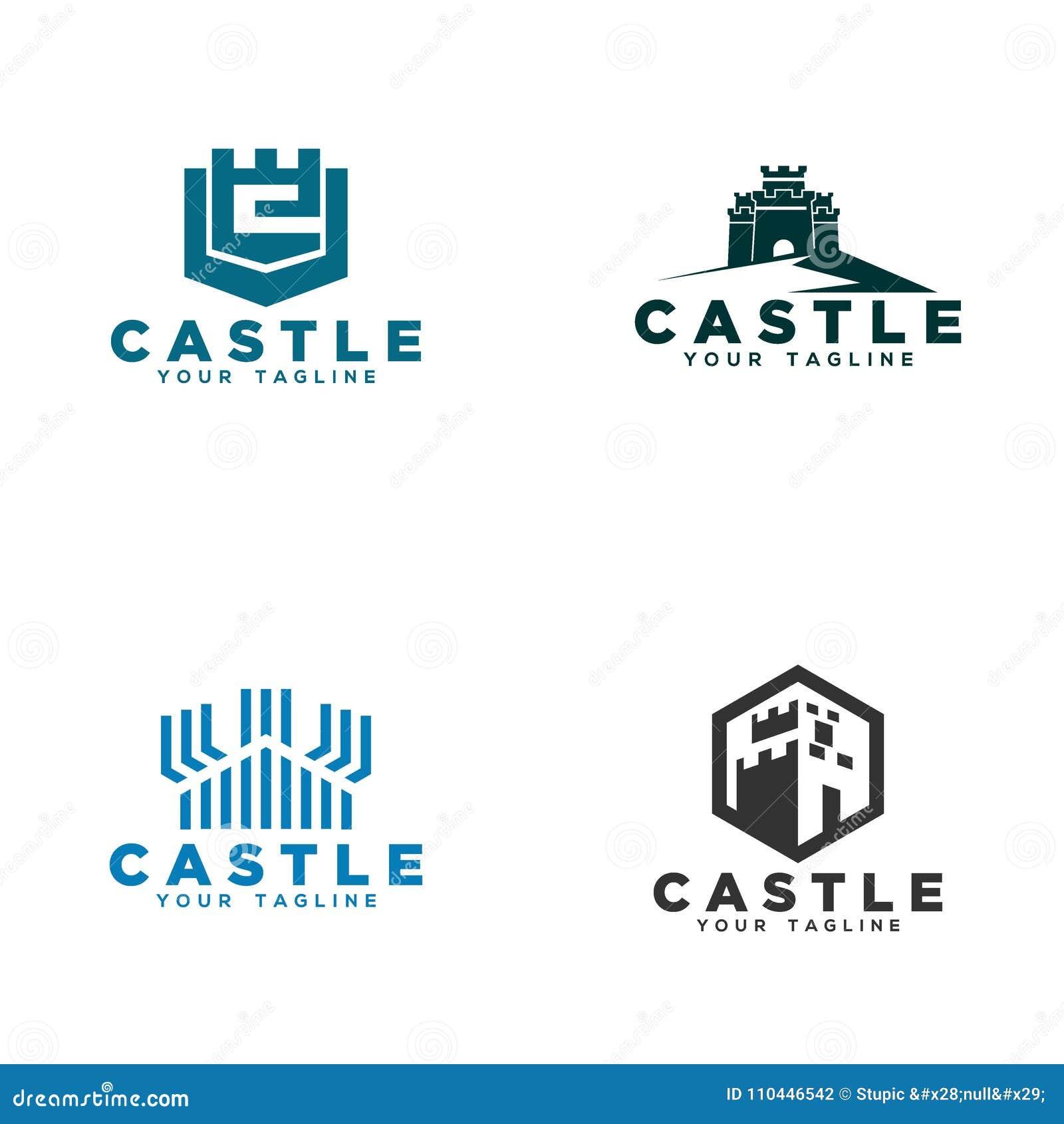 Castillo Logo Vector Art Logo