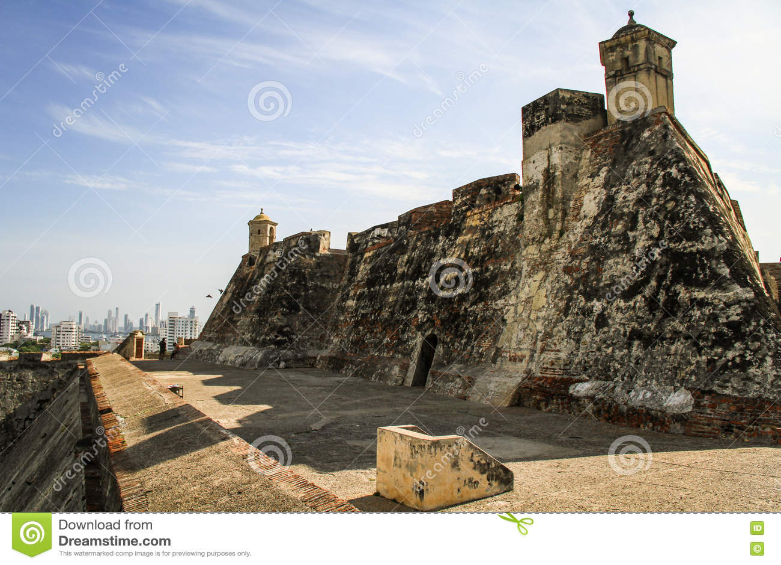 Castillo San Felipe de Barajas, Cartagena de Indias, Colombia