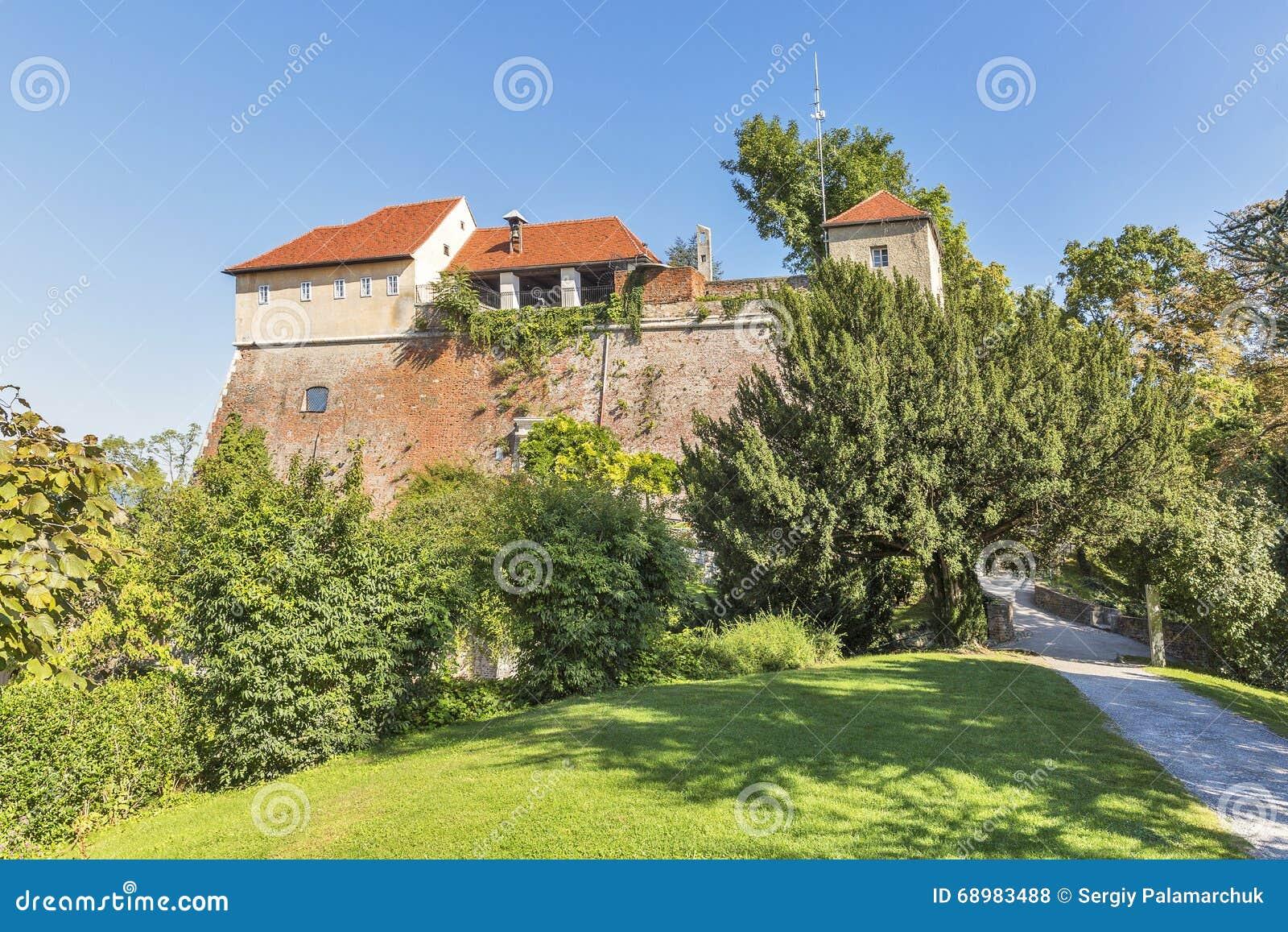Castillo Schlossberg en Graz, Austria