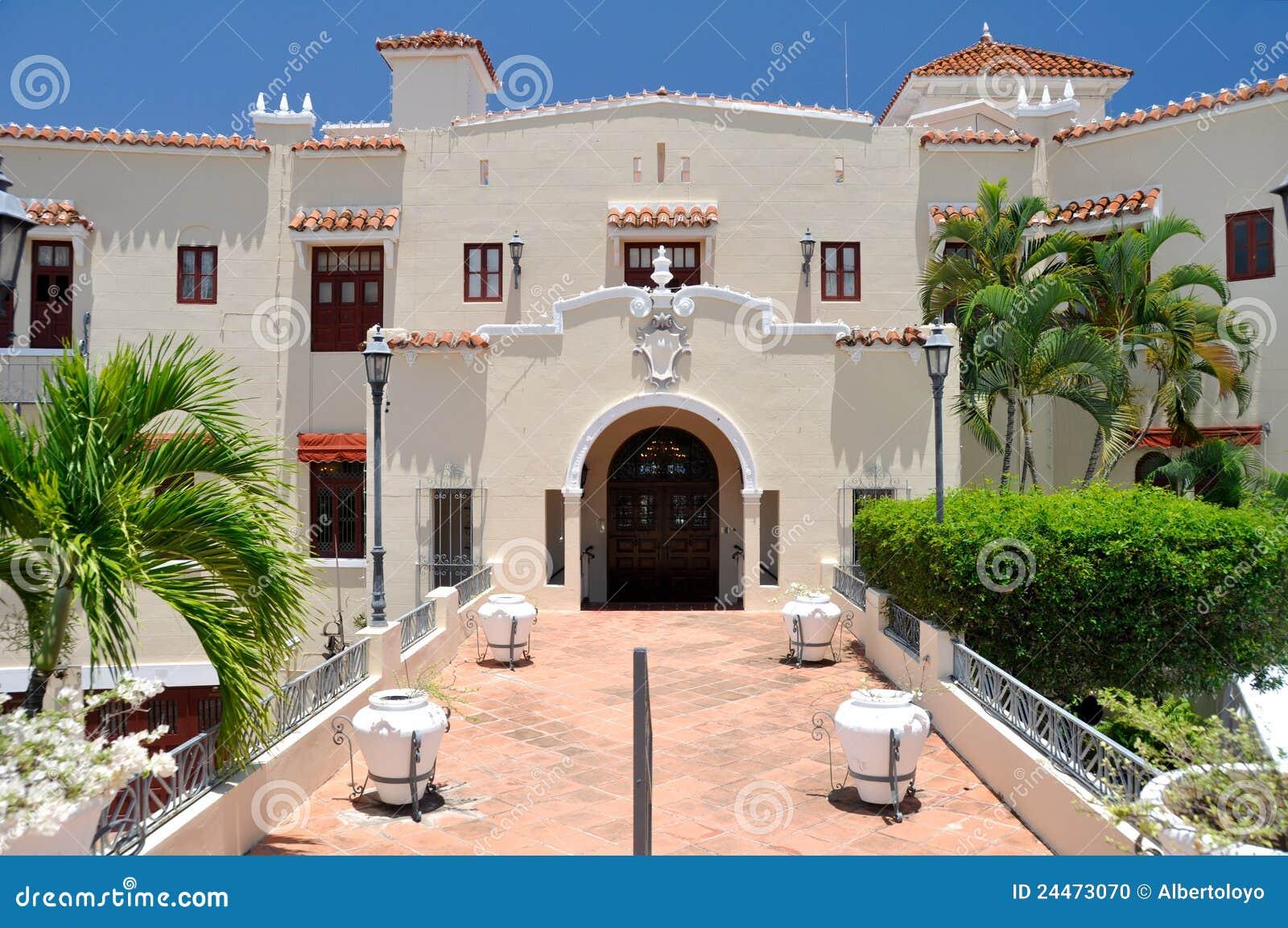 Castillo Serralles Mansion At Ponce Puerto Rico Stock Photo Image 24473070