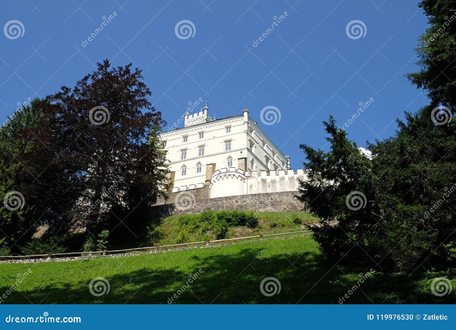 Castillo Trakoscan en Croacia