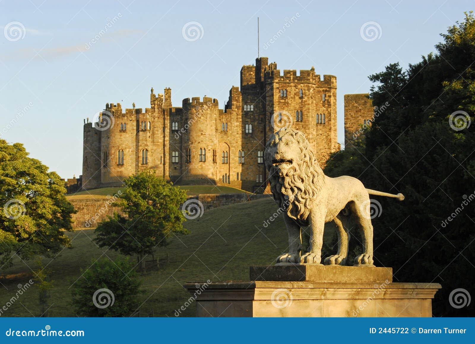 Castillo y los leones B de Alnwick