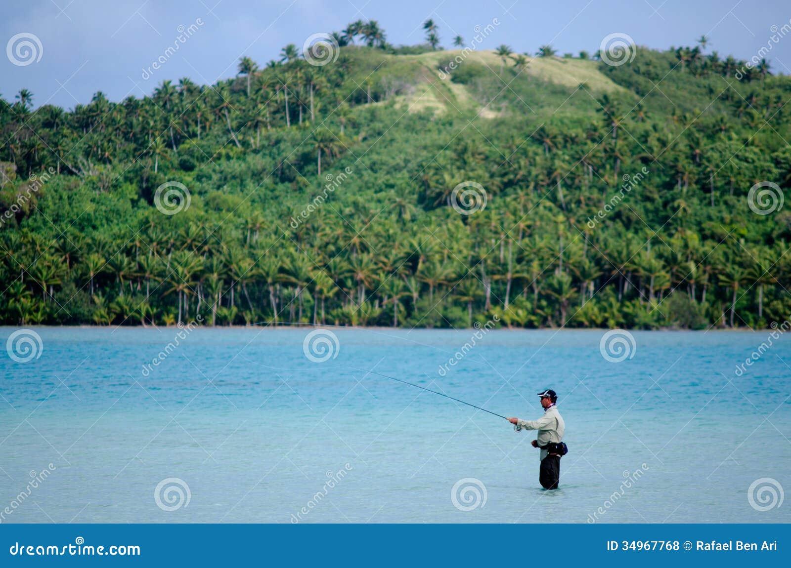 Fishing Cook Islands Bonefish