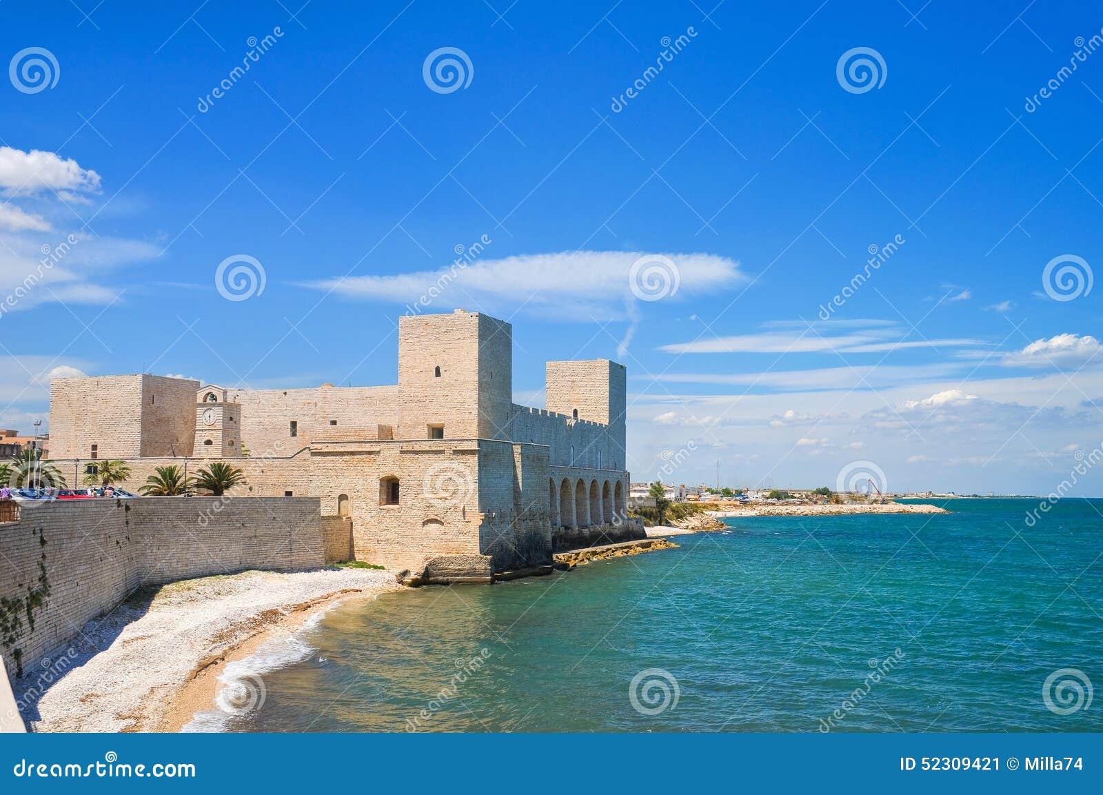 Castle του trani Πούλια Ιταλία