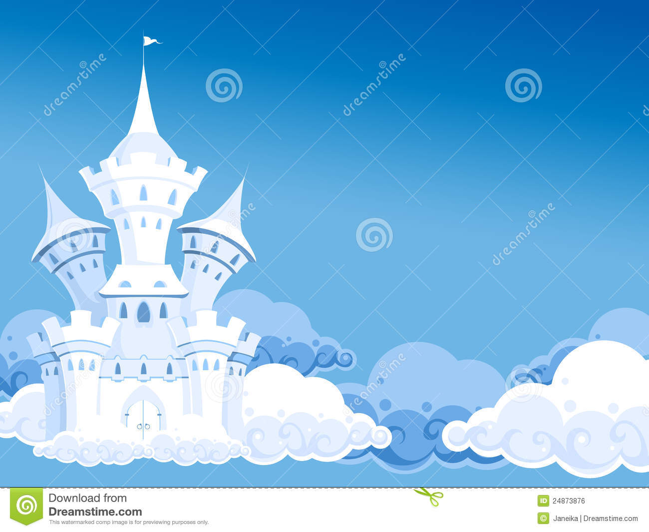 Castle Royalty Free Stock Image - Image: 24873876