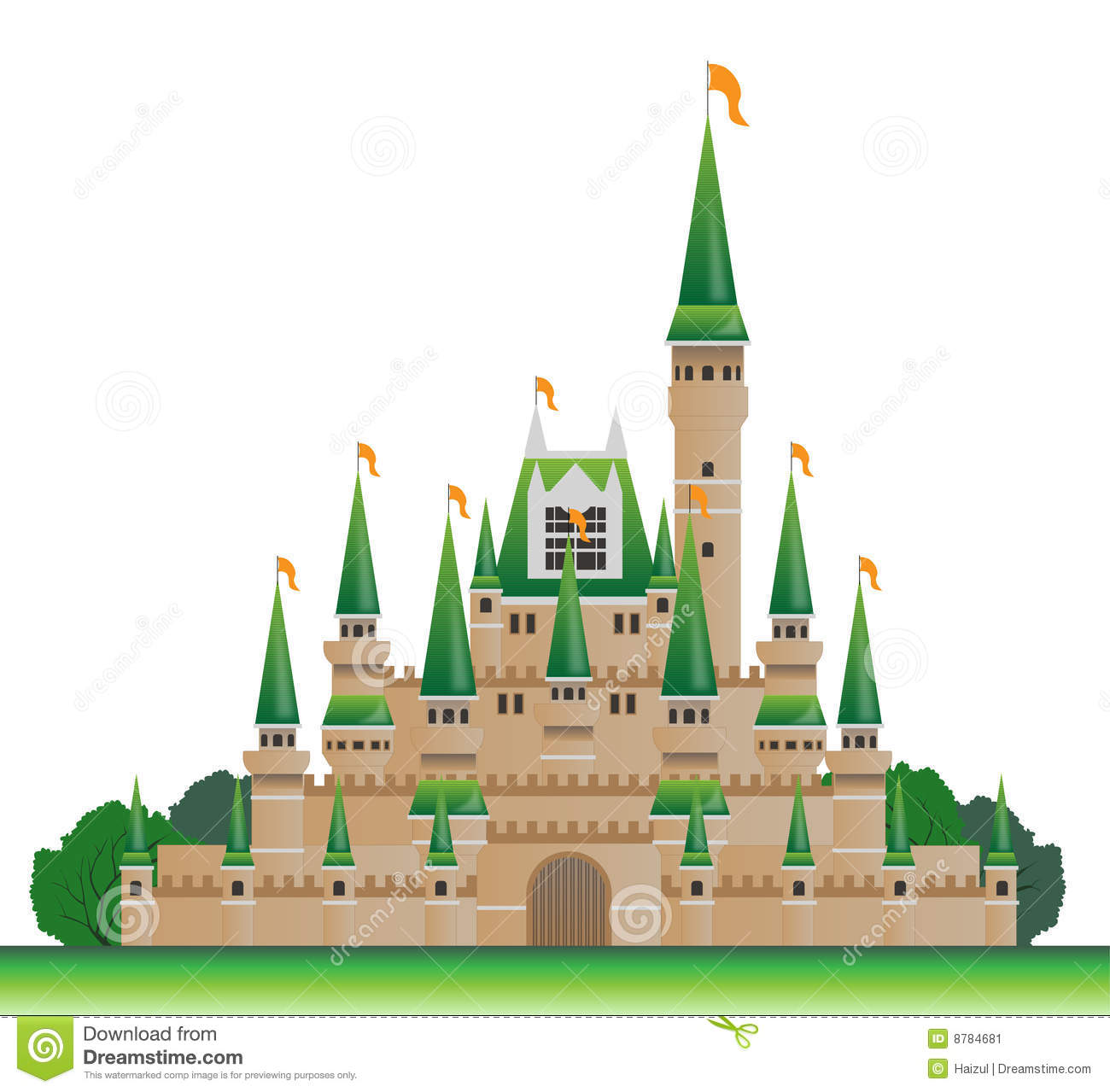 Castle Stock Image Image 8784681