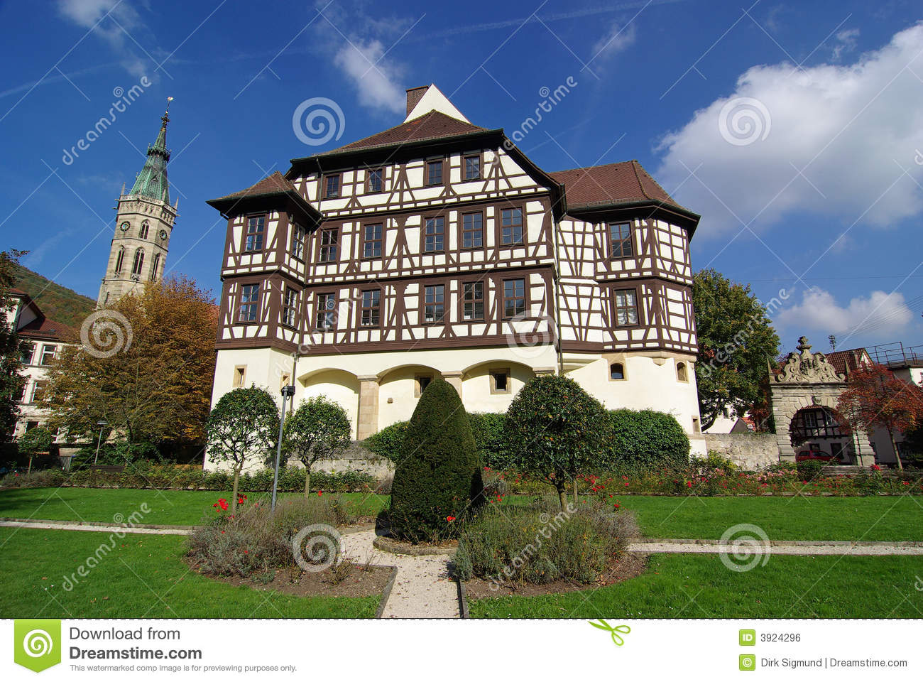 Bad Urach Germany  City pictures : Castle Bad Urach founded 1443, Bad Urach, Germany.
