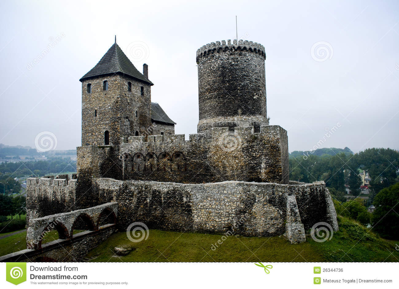 castle bedzin poland medieval - photo #6