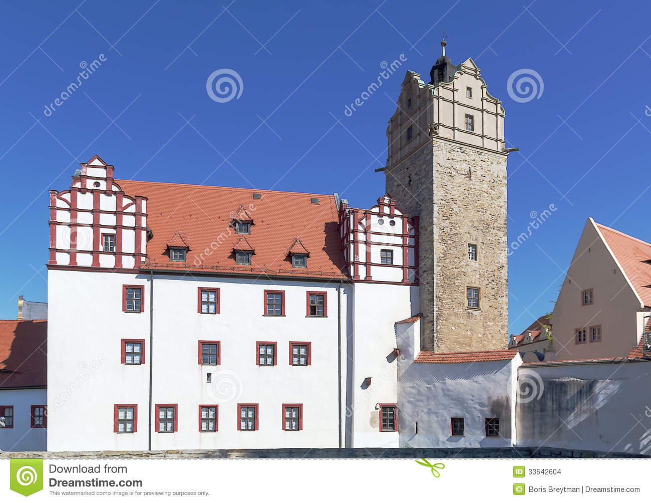 Bernburg Germany  city photos gallery : Castle In Bernburg, Germany Stock Images Image: 33642604