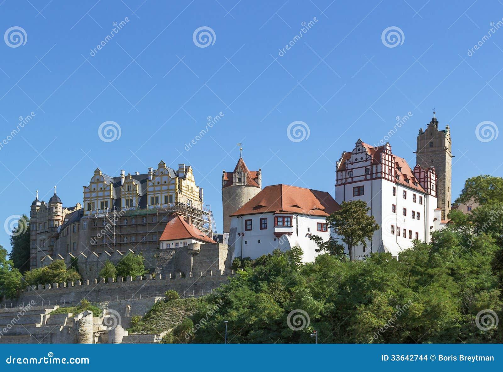 Bernburg Germany  city photos gallery : Castle In Bernburg, Germany Stock Images Image: 33642744