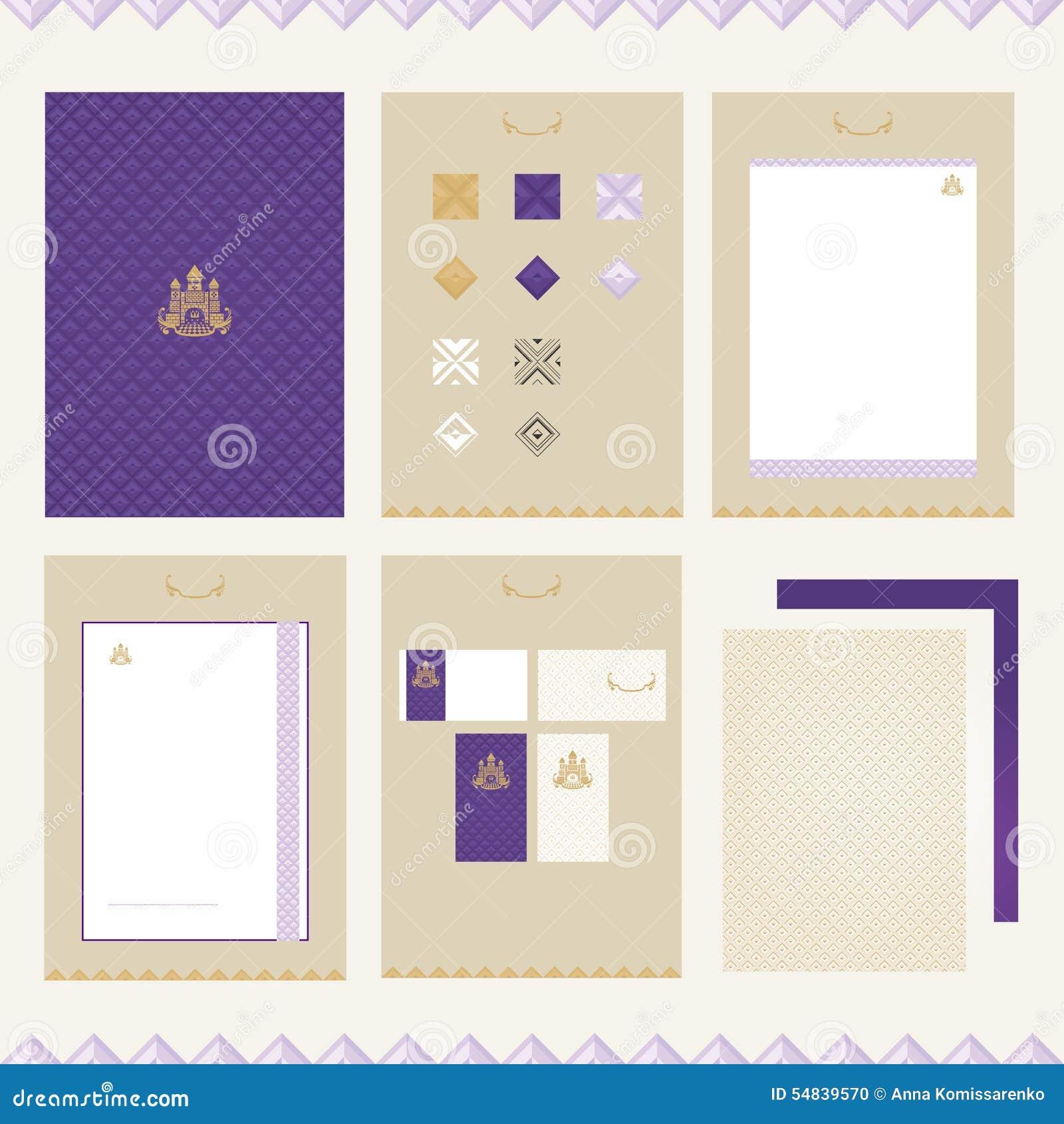castle brand book template