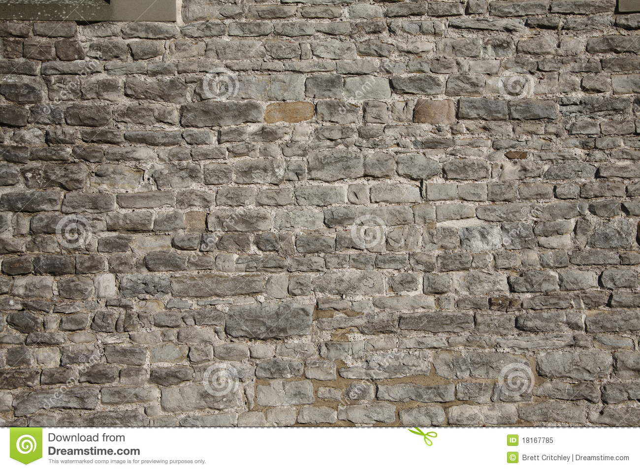 Castle brick wall background