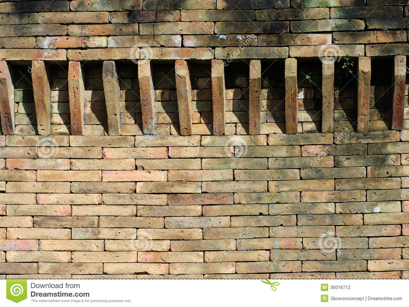 Castle brick wall detail stock photo image of exterior for Time saver details for exterior wall design