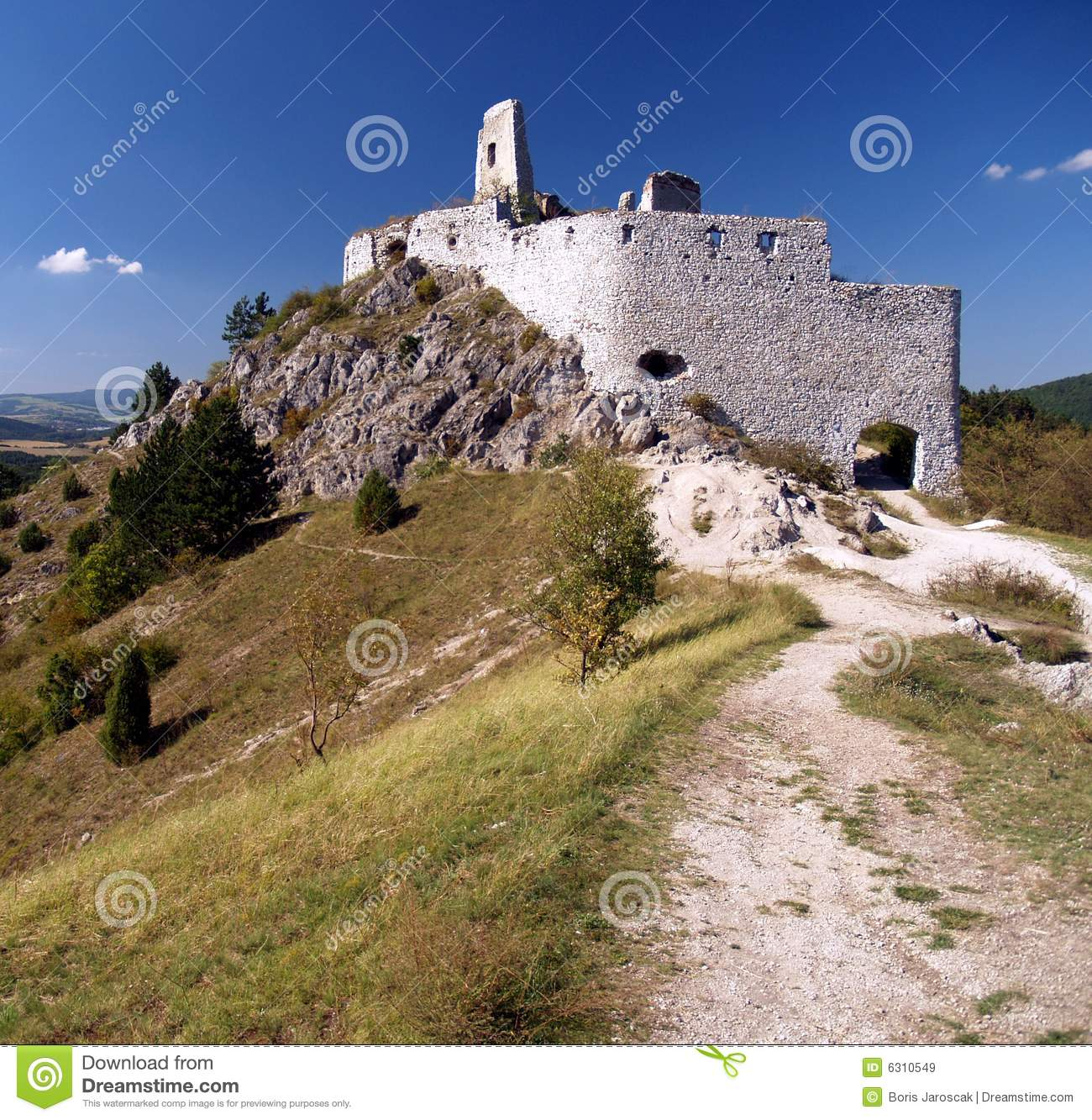 The Castle of Cachtice