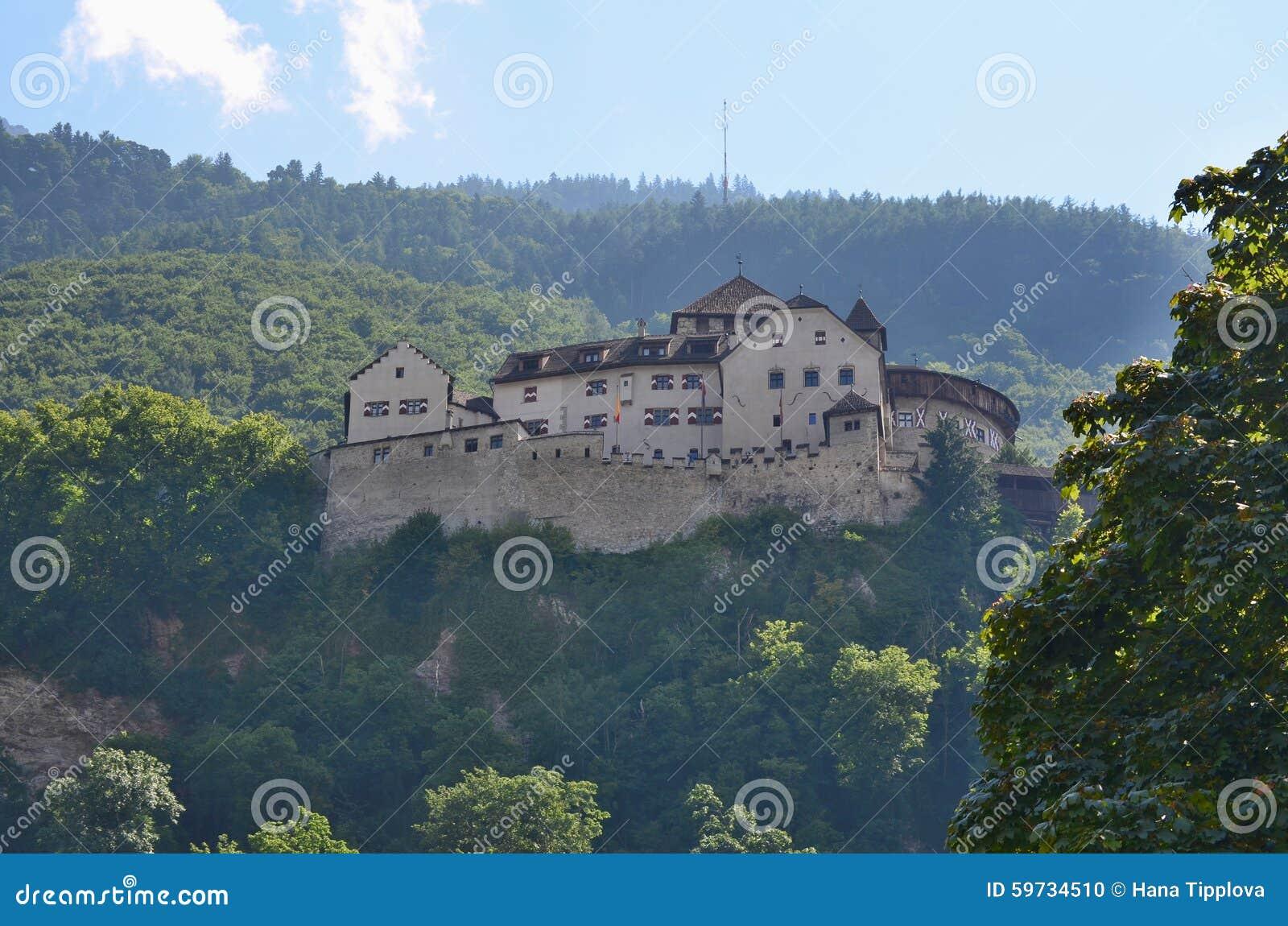 Castle (Castle) Vaduz, formerly also called Hohenliechtenstein